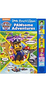 Electronic reader and 8 book library paw patrol