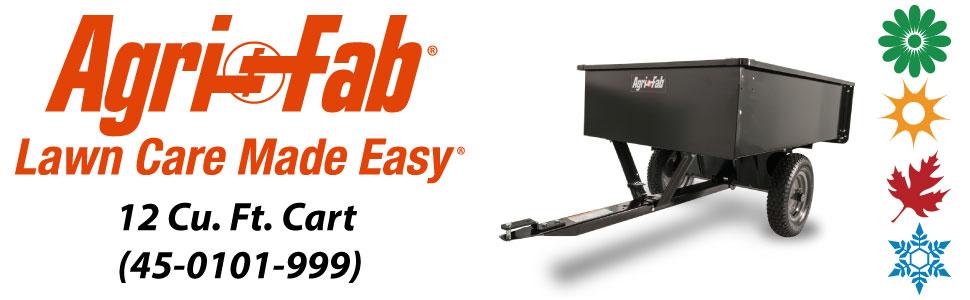 Agri-Fab, Inc. 750 lb. Steel Dump Cart