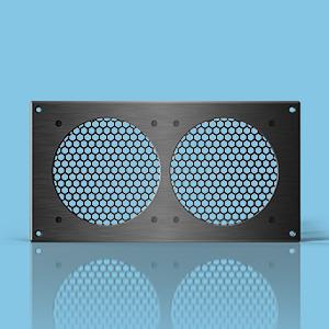 Home Theater Cabinet, Audio Video Cabinet Fan, Quiet Cabinet Cooling Fan,  Av Cabinet