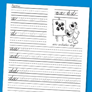 traditional handwriting beginning cursive grades 1 3 carson dellosa publishing. Black Bedroom Furniture Sets. Home Design Ideas