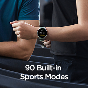 90 Built-in Sports Modes