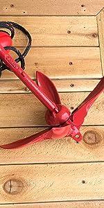 anchor, airhead anchor, anchor for boat, anchor for kayak, anchor for PWC, PWC, PWC anchor, a-2, a-7