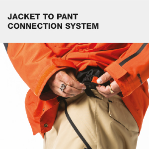 connection system, snow, outerwear, jacket