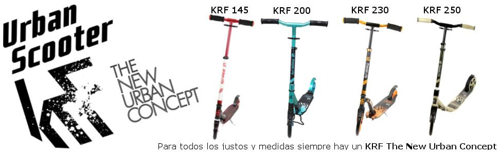 KRF The New Urban Concept Urban City Patinete, Hombre, Azul ...