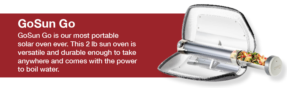 solar cooker oven camping sun stove cooking grill portable tube cook powered go parabolic mini