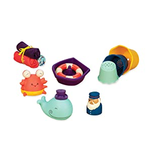 Boon bath toy time boat baby set unisex gift box Rubber duck toy munchkin bubble bath Baby child