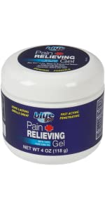 blue goo, pain relief gel, 4 ounce pain relief gel