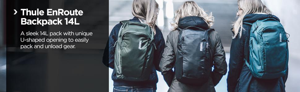 Thule backpack, Thule EnRoute, Thule daypack, Thule laptop bag, Thule professional backpack, macbook