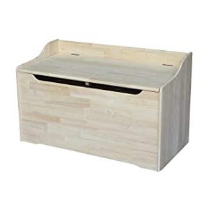 International Concepts Unfinished Storage Box, 38 Inch