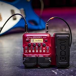 Zoom B1X FOUR Bass Guitar Multi-Effects Processor  9