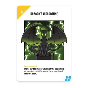 Dragon's Misfortune: Unstable Unicorns Dragon Expansion