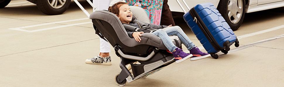 Amazon Brica Smart Move Car Seat Travel Cart Airport