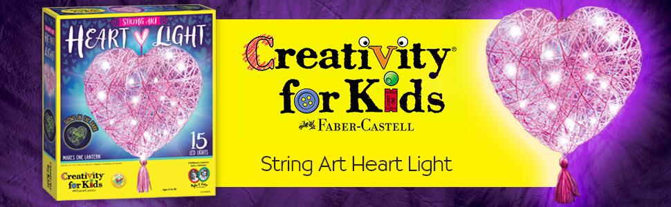 heart light. string art, string art for kids, string arts and crafts