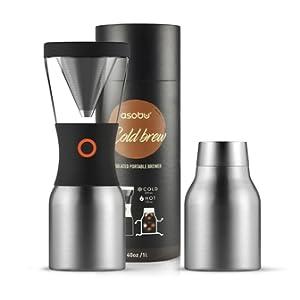 silver Cold Brew coffee maker