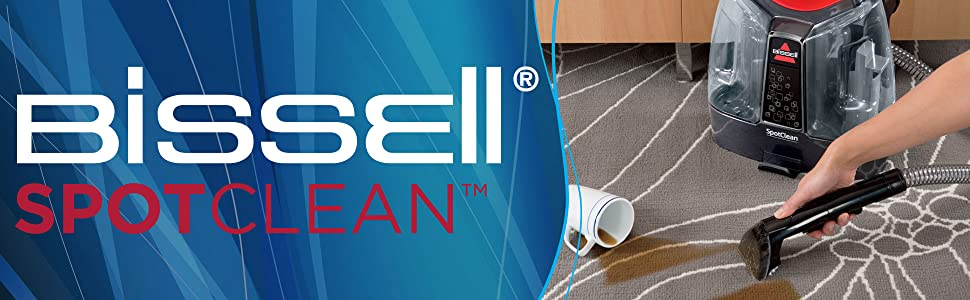BISSELL, spotclean, portable carpet cleaner, spot cleaner, mini carpet cleaner