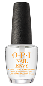 OPI Nail Envy Nail Strengthening Treatment Nail Care Nail Lacquer Base Coat Sensitive Peeling Nails