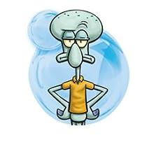 "SpongeBob SquarePants, Masterpiece Memes, 8"" Collectible Vinyl Figure,  Handsome Squidward (Closed Eyes)"