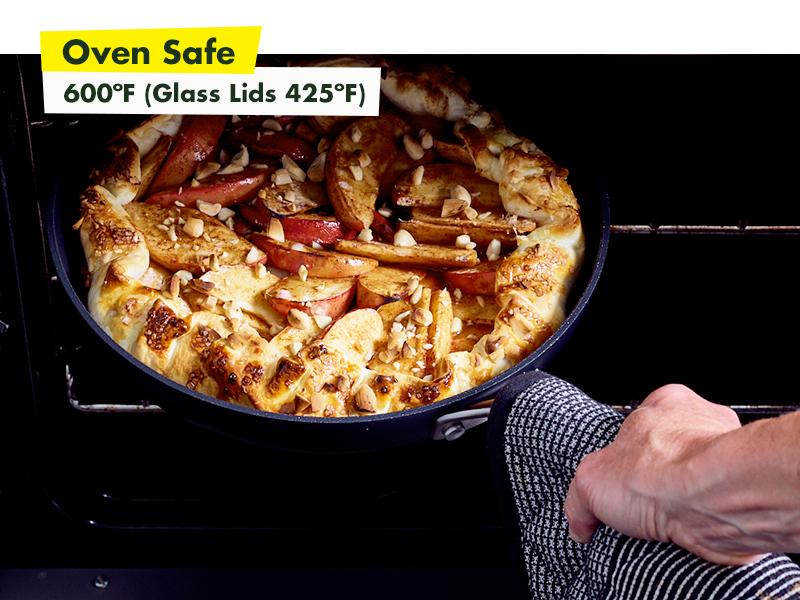 GreenPan, Searsmart, Healthy Ceramic Nonstick, Cookware, oven safe, frypan, durable, oven, pfoa