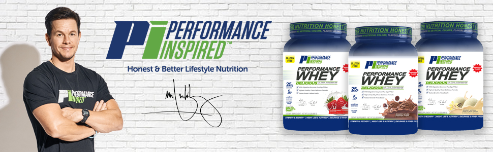 Performance Inspired Nutrition by Mark Wahlberg