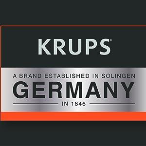 KRUPS, coffee machine, coffee maker, brand story
