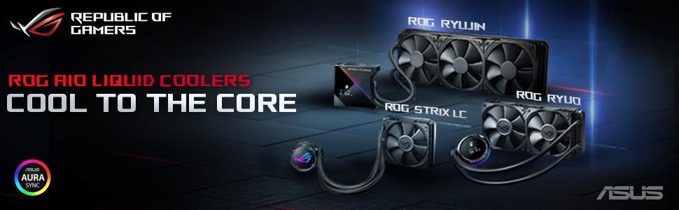ROG Strix LC 120 - Sistema de refrigeración líquida de CPU, Aura ...
