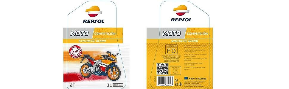 REPSOL MOTO COMPETICIÓN 2T