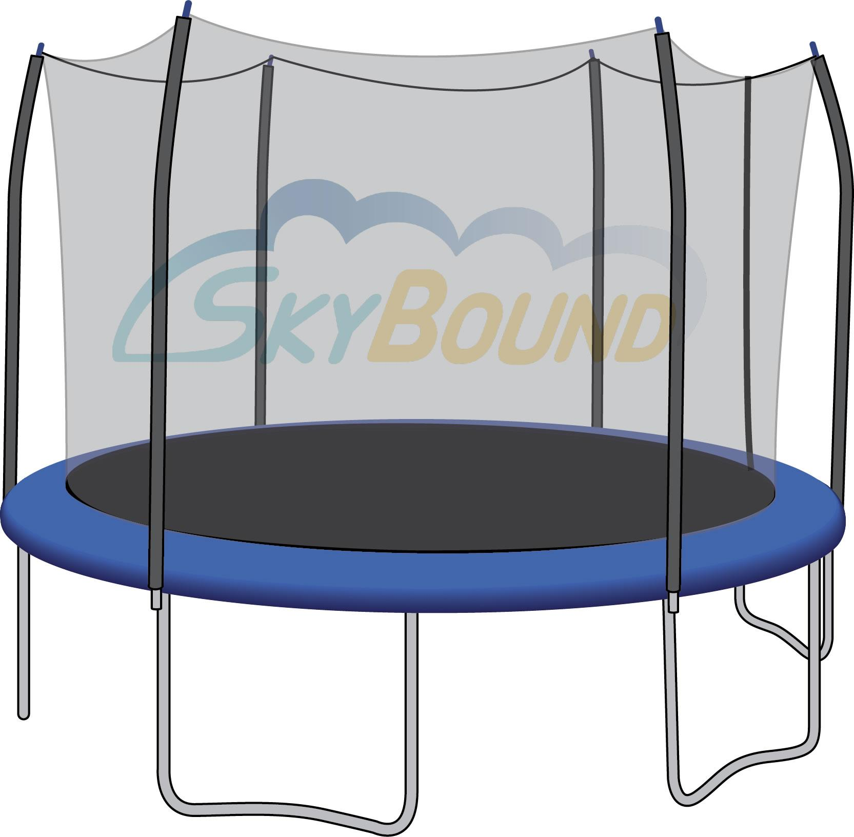 Amazon.com : SkyBound Trampoline Safety Net For Top-Ring
