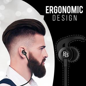 Rhythm&Blues A100 in Ear Wired Earphones (Black)