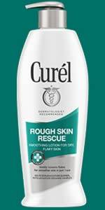 curel rough skin rescue lotion dry flaky skin psoriasis