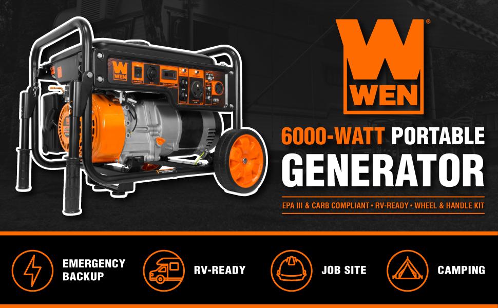 WEN GN6000 Portable Generator