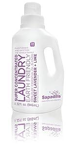 Sapadilla liquid laundry detergent