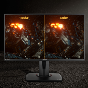 """ASUS TUF Gaming VG259QM 24.5/"""" Monitor DisplayHDR/™ 400 Supports 144Hz Extreme Low Motion Blur Sync G-SYNC Compatible Fast IPS DisplayPort HDMI 1ms 1920 x 1080 280Hz Eye Care 1080P Full HD"""