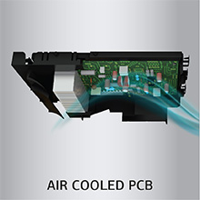 Air colled