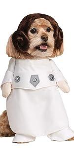 Pet Princess Leia Costume