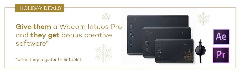 intuos pro bonus software adoe after effects