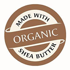 Made with Organic Shea Butter