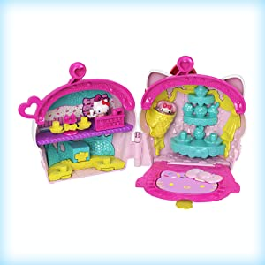 Hello Kitty Bake Shop Toy Play Set Cash Register Cupcake Included