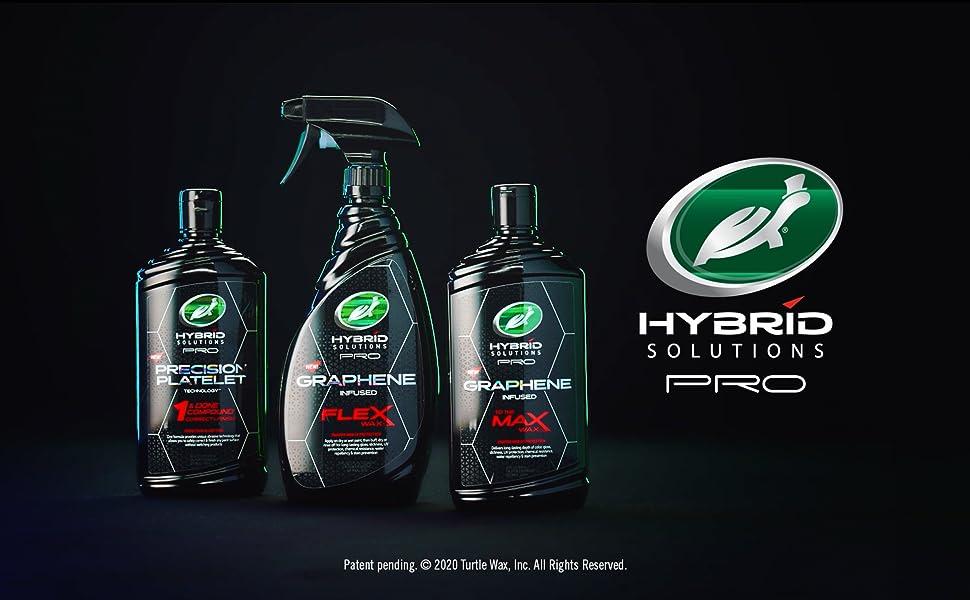Turtle Wax, Hybrid Pro, Graphine, Car Wax, Car Cleaning, Car Polish, Ceramic, Detailing, Spray Coat