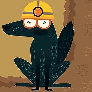 anna the black mole, ants, bats