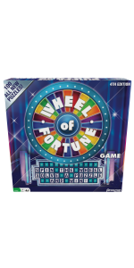 Wheel of Fortune Game: 4th Edition