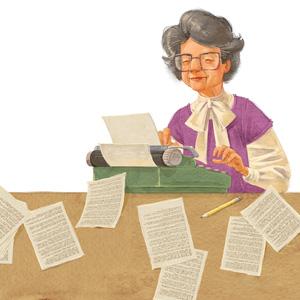 Bev Typewriter