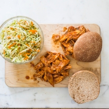 Sweet and Tangy Pulled Chicken