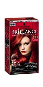 Couleur cheveux rouge brocart