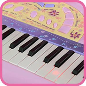 4 instrumentos musicales(piano, órgano, violín y guitarra), 4 ritmos y 4 sonidos de tambor. También tiene volumen y tempo ajustables, ...