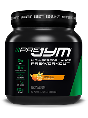 JYM Supplement Science, PRE JYM, Pineapple Strawberry, 20 Serving