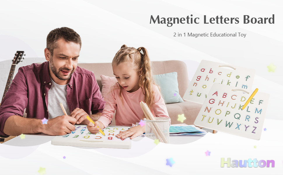 magnetic letters board