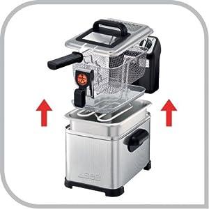 friteuse FR518100 semi professionnelle filtra pro seb nettoyage lave vaiselle