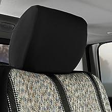 Wrangler Black Headrests