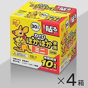 カイロ ぽかぽか家族(ミニ)【15・4箱セット】