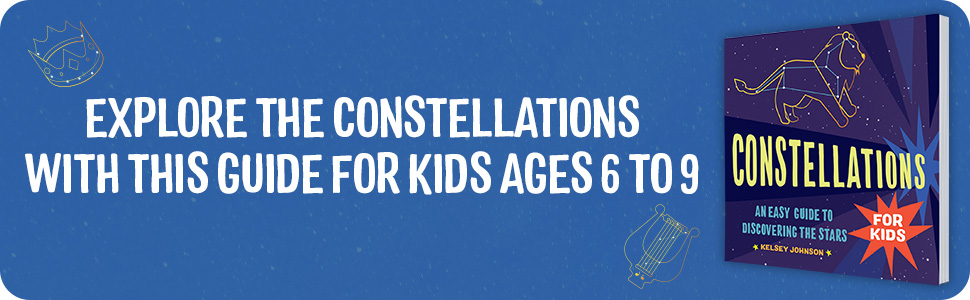 Constellations, constellations for kids, constellation books for kids, constellations book